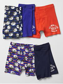 Baseball trunks (5-pack)
