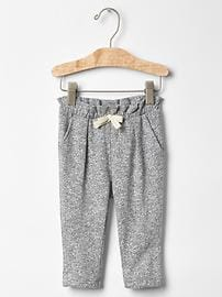 Marled soft pants