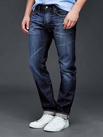 AUTHENTIC 1969 slim fit jeans (authentic indigo selvedge)