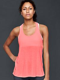 GapFit Breathe air twist-back tank