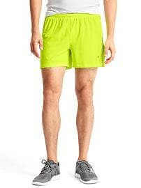 GapFit side panel running shorts