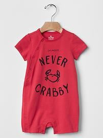 Never crabby shortie one-piece
