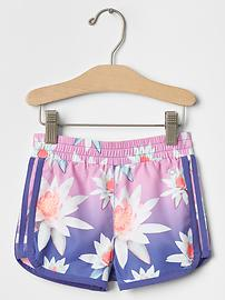 GapFit toddler floral dolphin shorts