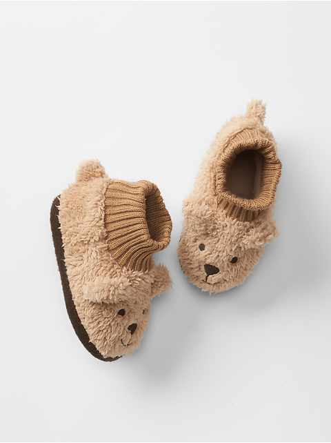 Cozy bear slippers (ベビー)