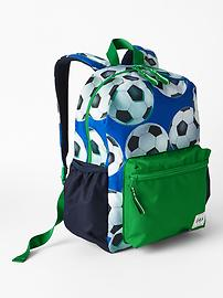 Print junior backpack