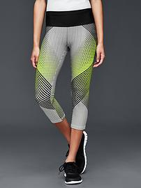 gFast cross train print capris