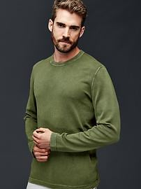Lightweight crew sweater