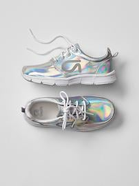 GapFit kids metallic sneakers