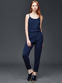 Gauzy cotton jumpsuit
