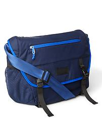 Nylon buckle messenger bag