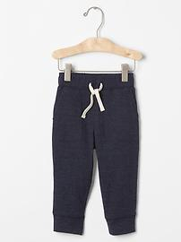 Double knit pocket pants