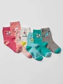 Fairy tale days-of-the-week socks (7-pack)