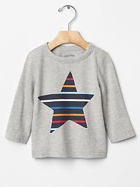 Colorful graphic tee