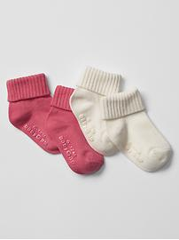 Ribbed socks (2-pack)