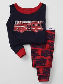 Fire rescue sleep set