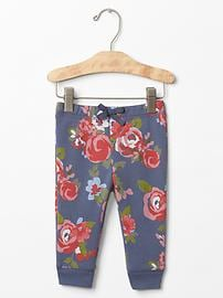 Rose banded pants