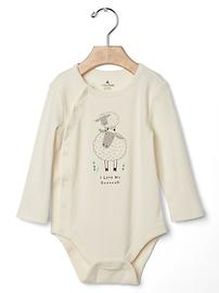 Little lamb family bodysuit