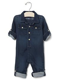1969 supersoft denim one-piece