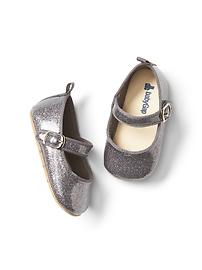 Glitter dust mary janes