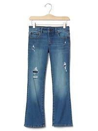 1969 rip & repair superdenim high stretch boot jeans