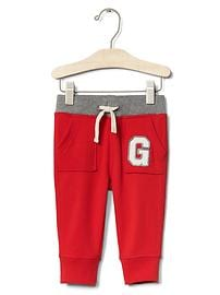 Athletic logo pocket pants