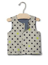 Happy star reversible vest