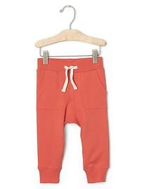 Terry pocket pants