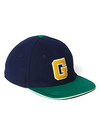 Colorblock baseball hat