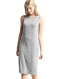 Softspun marled midi dress
