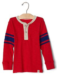 Football stripe henley