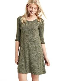 Softspun marled t-shirt dress