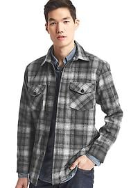 Gap + Pendleton shirt jacket