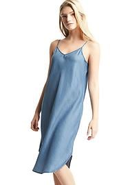 1969 Tencel&#174 denim cami dress