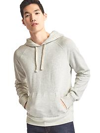 End-on-end pullover hoodie