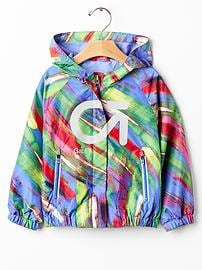 GapFit toddler brush windbreaker