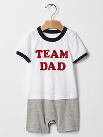 Team family shortie one-piece