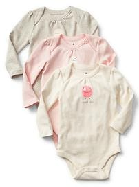 Scary cute bodysuit (3-pack)