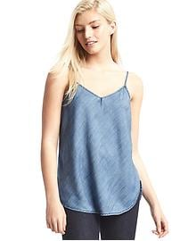 1969 Tencel&#174 denim long cami