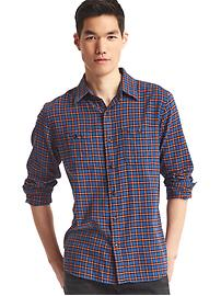 Flannel tattersall shirt