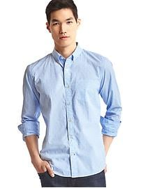 True wash dobby clip standard fit shirt