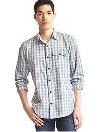 Jaspe checkered standard fit shirt