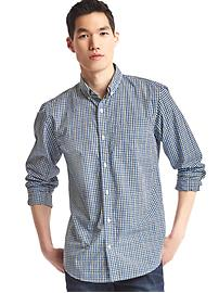 True wash checkered standard fit shirt