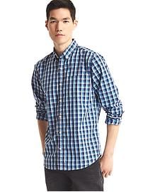 True wash bold checkered standard fit shirt