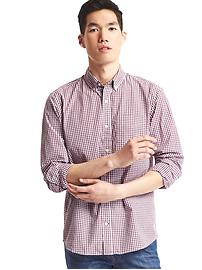 True wash mini tattersall standard fit shirt
