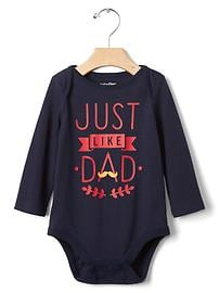 Family time long sleeve bodysuit