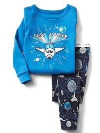 Space graphic sleep set
