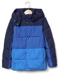 ColdControl Max quilted colorblock jacket