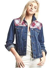 Gap + Pendleton 1969 icon denim jacket