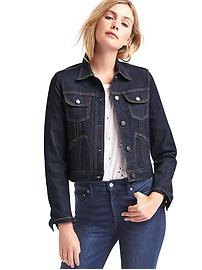 1969 short pleat denim jacket