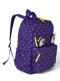 Print senior backpack